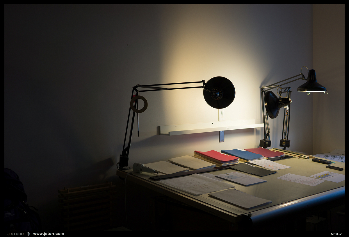 Nex-7 - sharpening applied - no processing - #ffkr #architects #desk #nex7 #nex-7 #sony