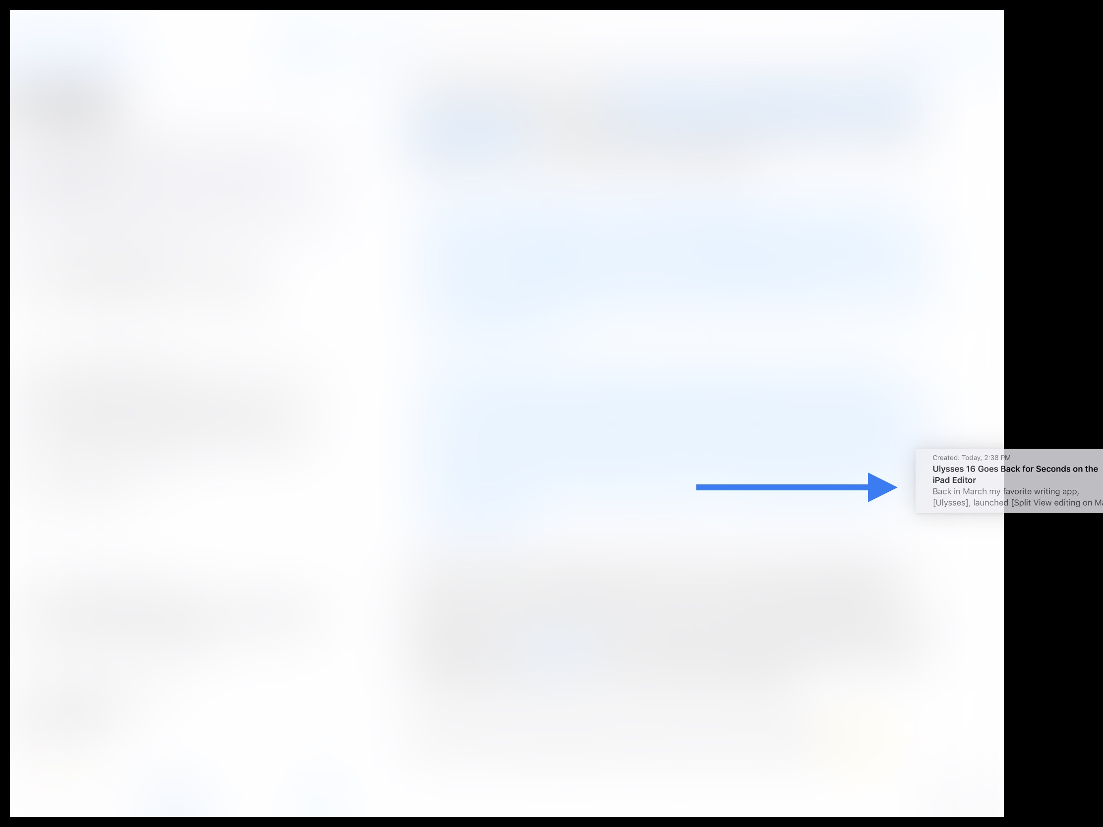 Drag a sheet from the sheet list to either edge of the screen — this will trigger a nice animation and then open the dragged sheet next to the current view.