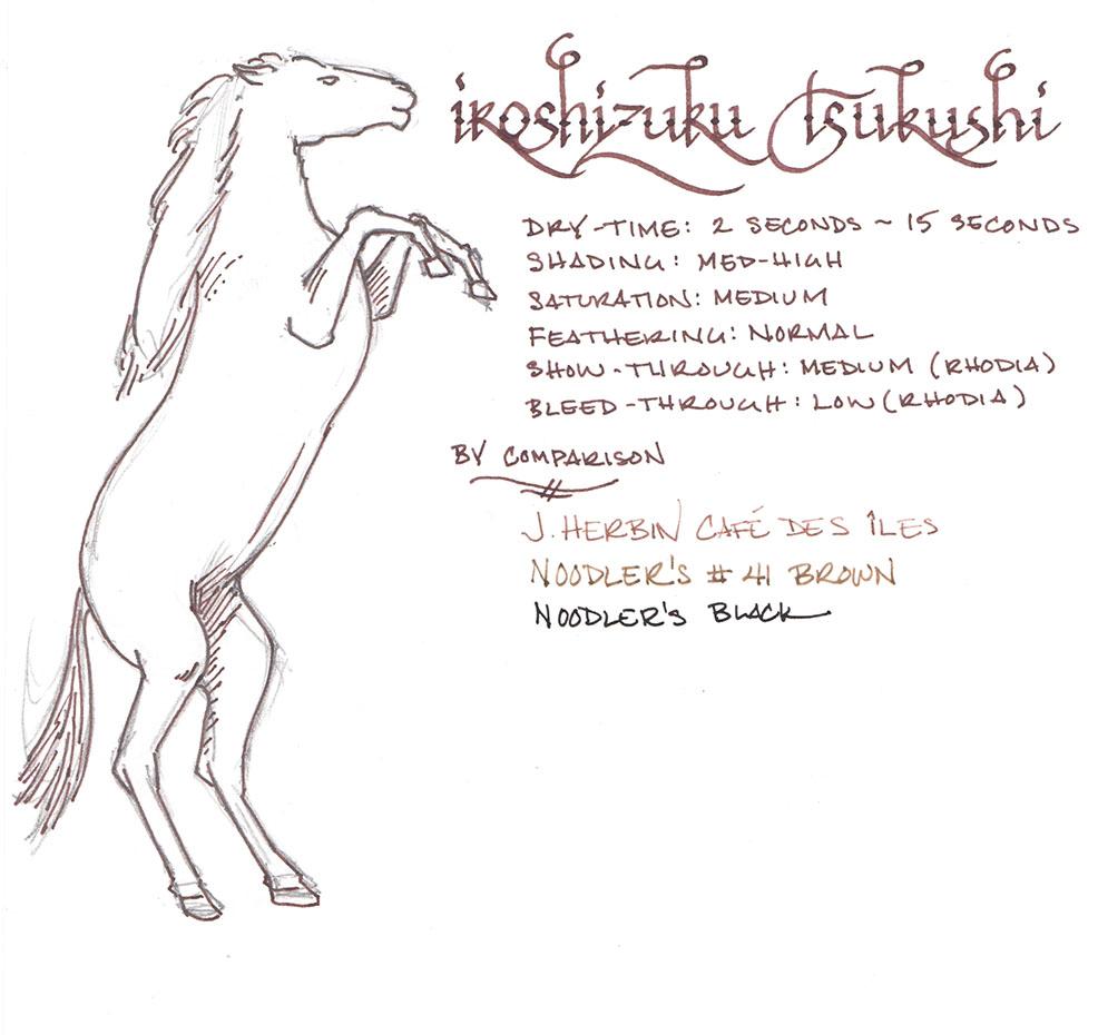 Iroshizuku Tsukushi. Click to enlarge.