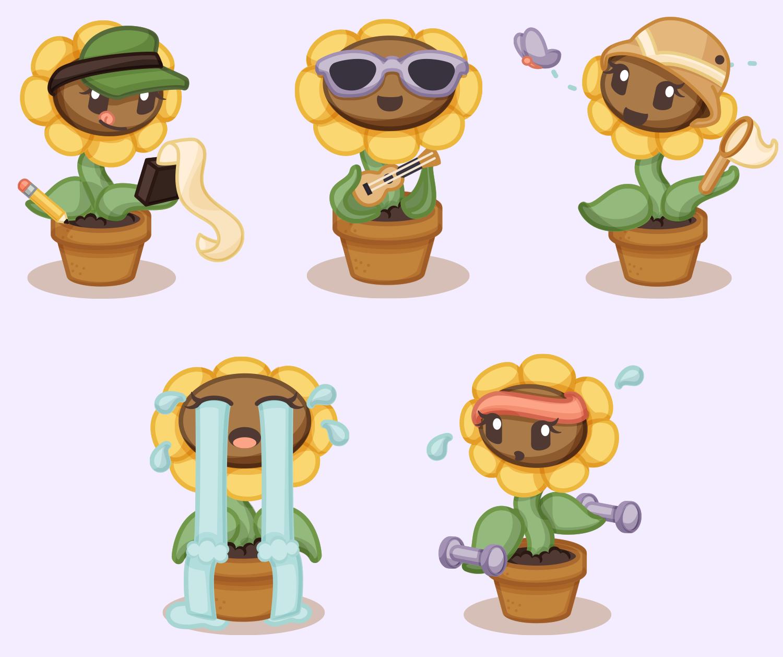 Lindsey.io - Blossom - imo.im - emoji