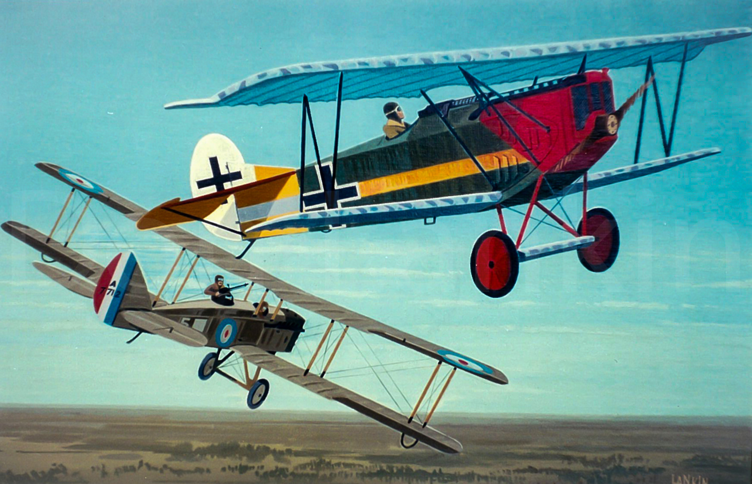 The Fokker D-VII was considered by many to be the best German fighter of WWI.