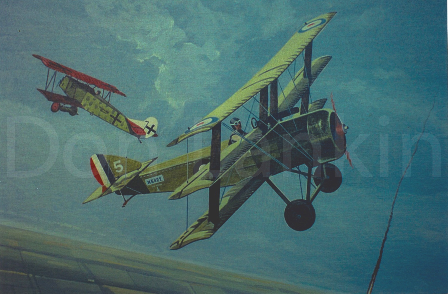 A sound design, the Triplane was very maneuverable with a good rate of climb but underpowered and underarmed.