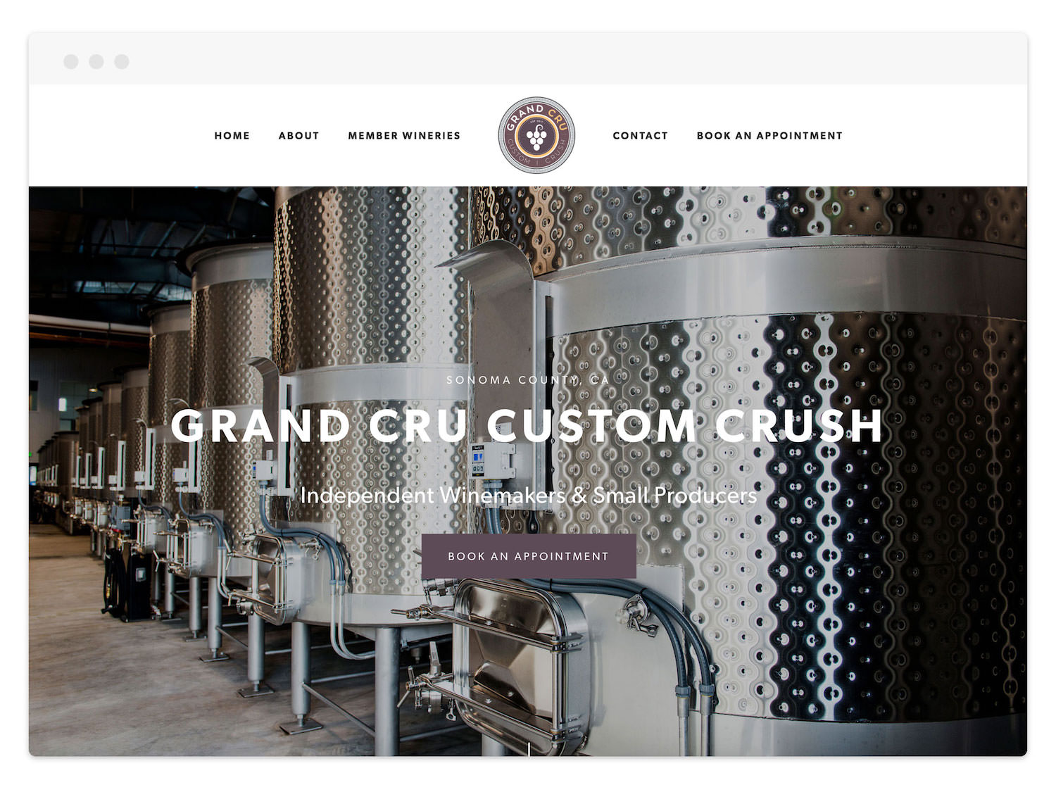 Grand Cru Custom Crush  (Wine Producer)
