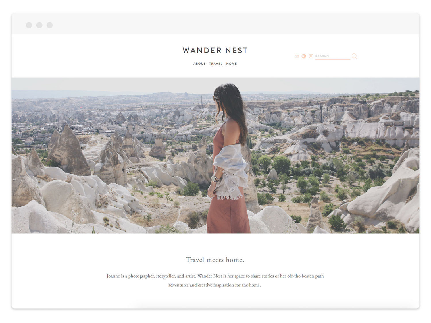 Wander Nest  (Blog)
