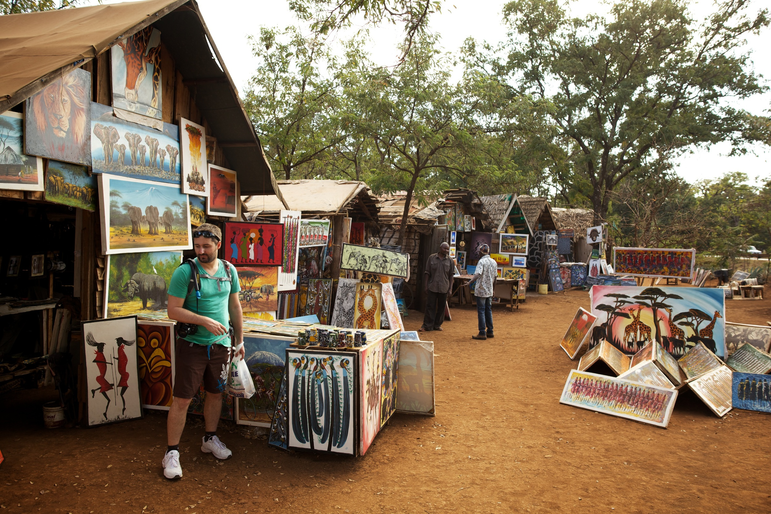 Moshi Art Handcraft Center, Tanzania, Sep 2012