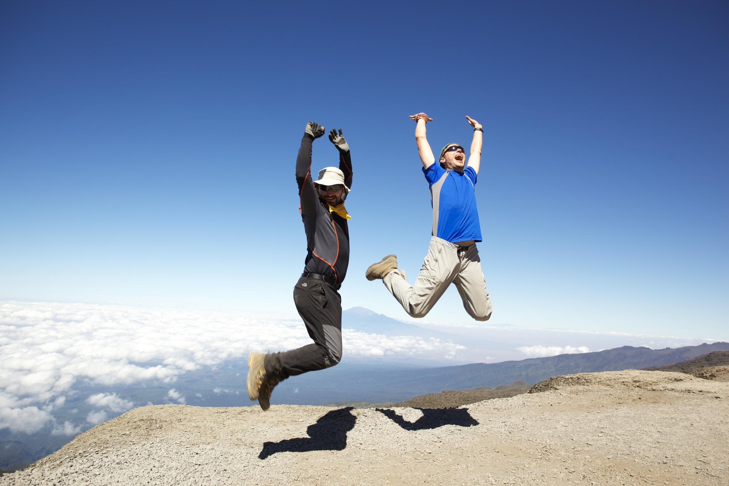 Alex & Georgi, Mt. Kilimanjaro (TZ)