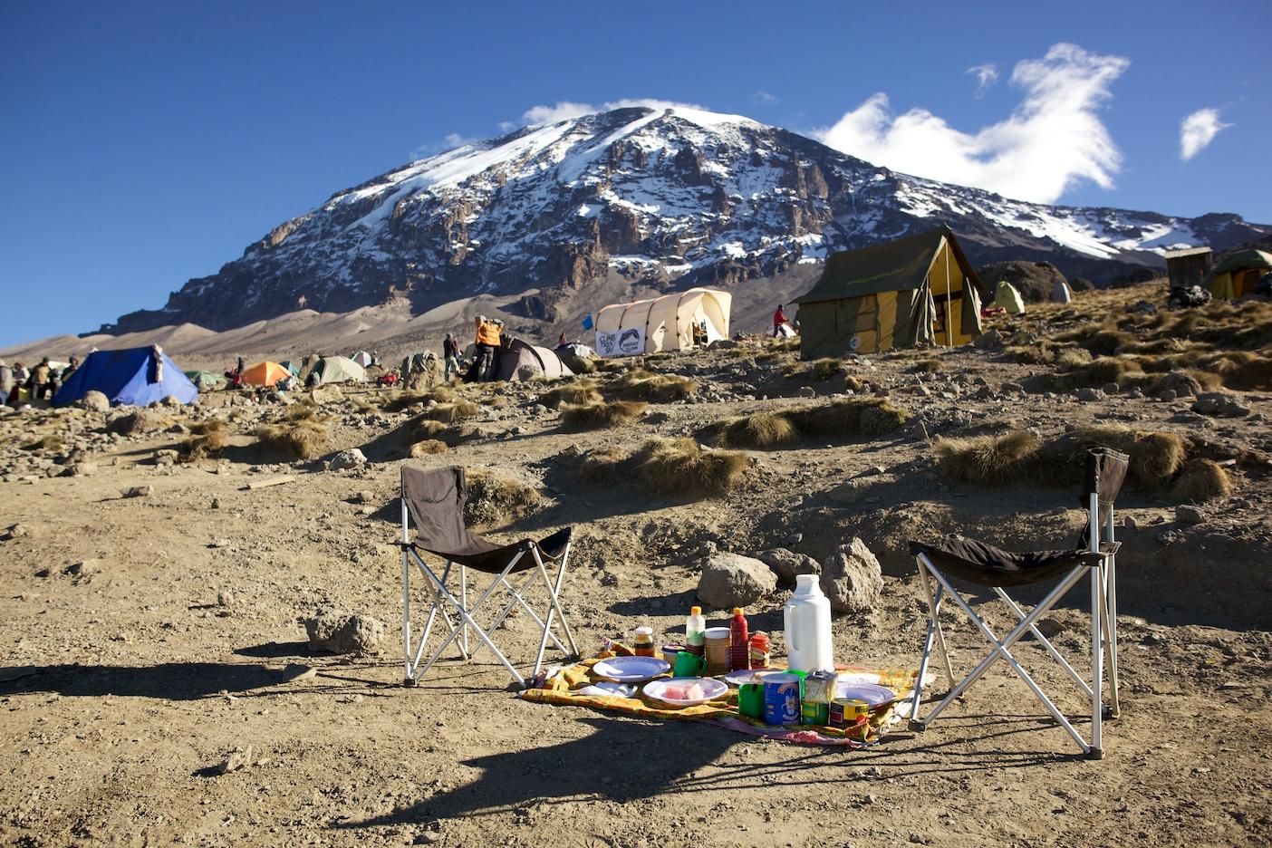 Perfect Breakfast, Karanga Camp, Kilimanjaro (TZ)