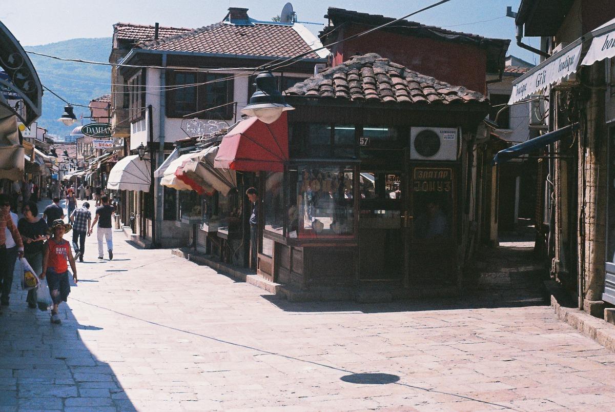 Old turkish bazar, Skopje