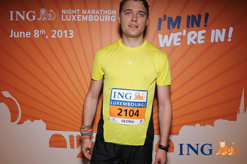 "Georgi, img. source: ""ING Luxembourg Night Marathon"""