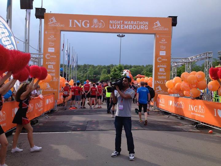 Starting Line, Luxembourg Night Marathon