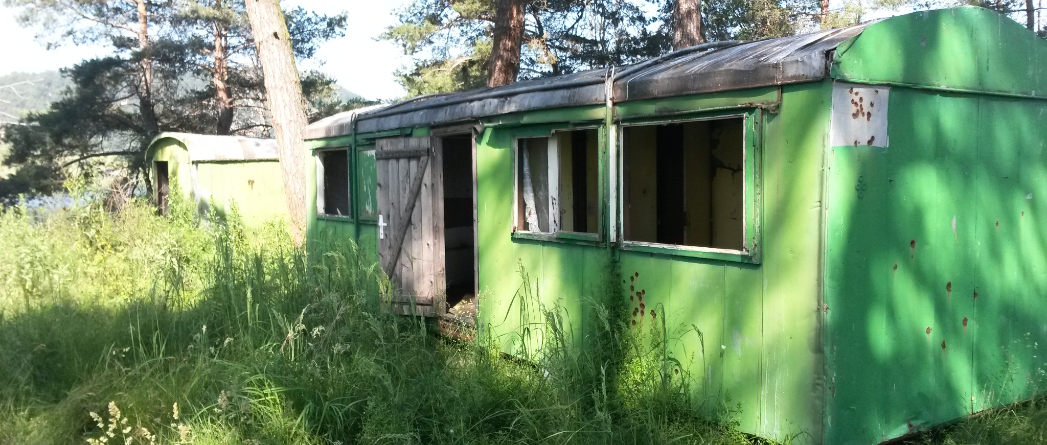 ex-military caravans