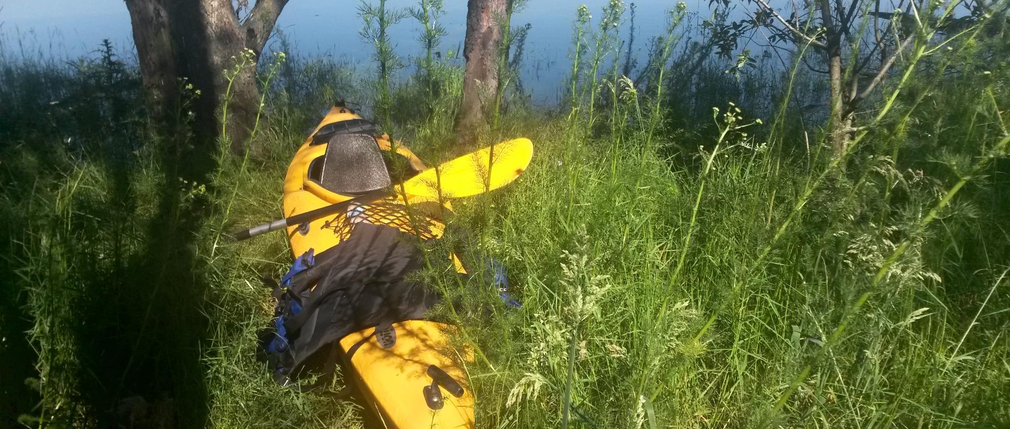 Georgi's kayak