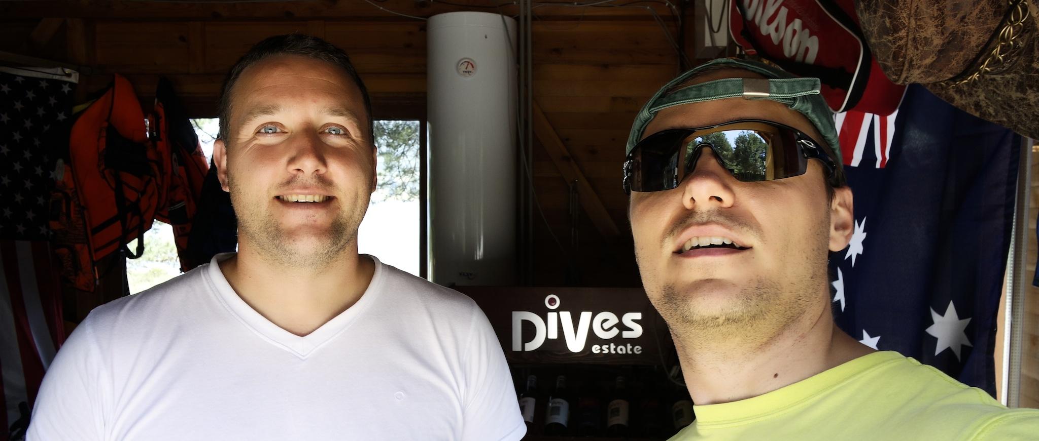 Camping owner & Georgi