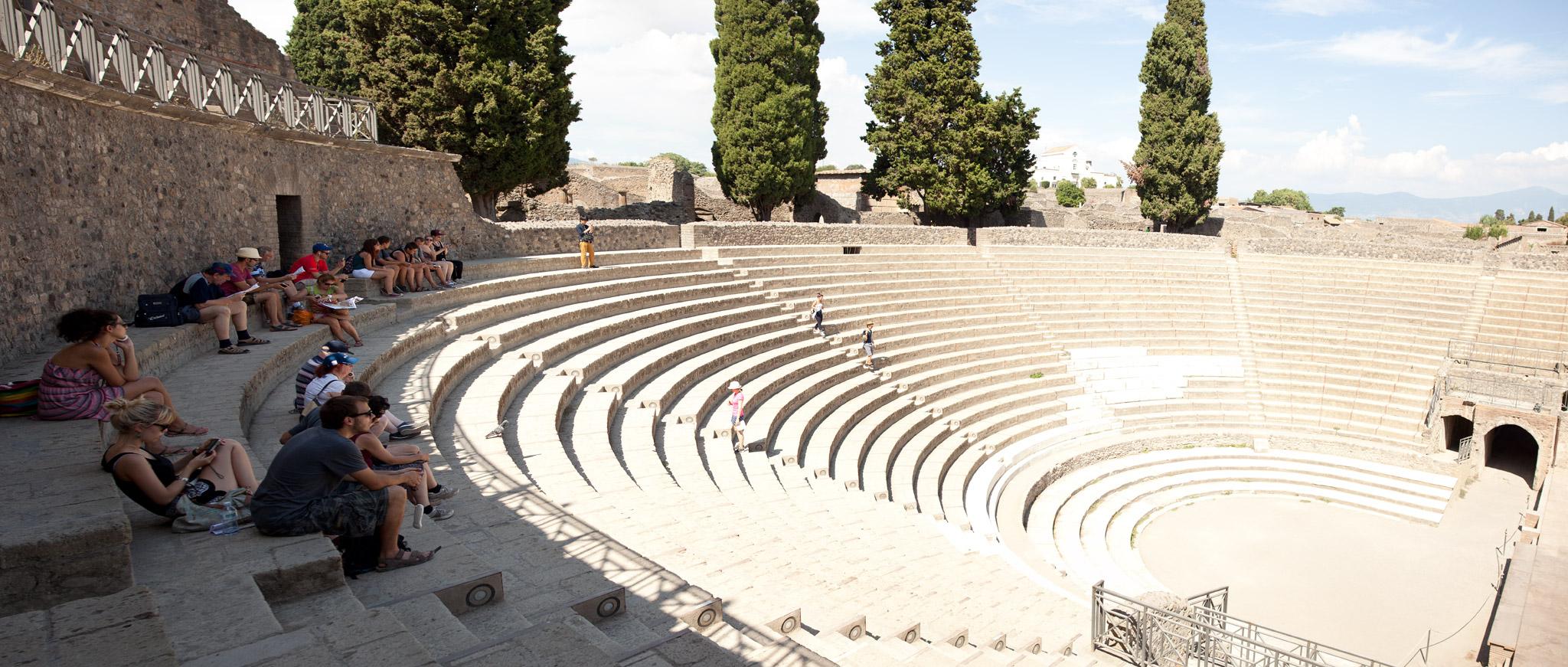 Teatro Grande - Scavi, Pompeii