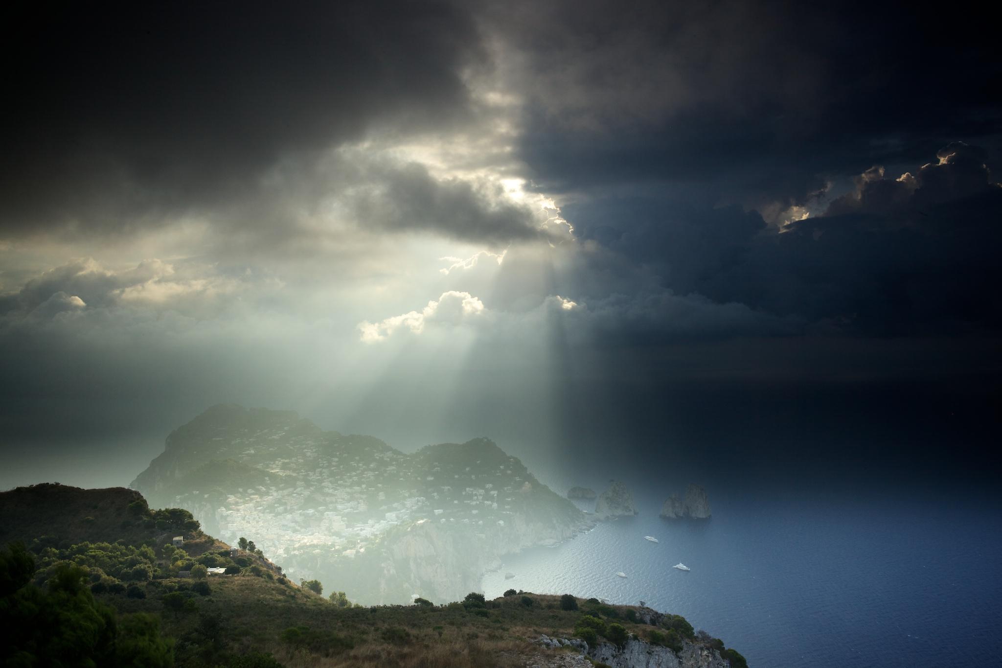 Sunrise in Capri