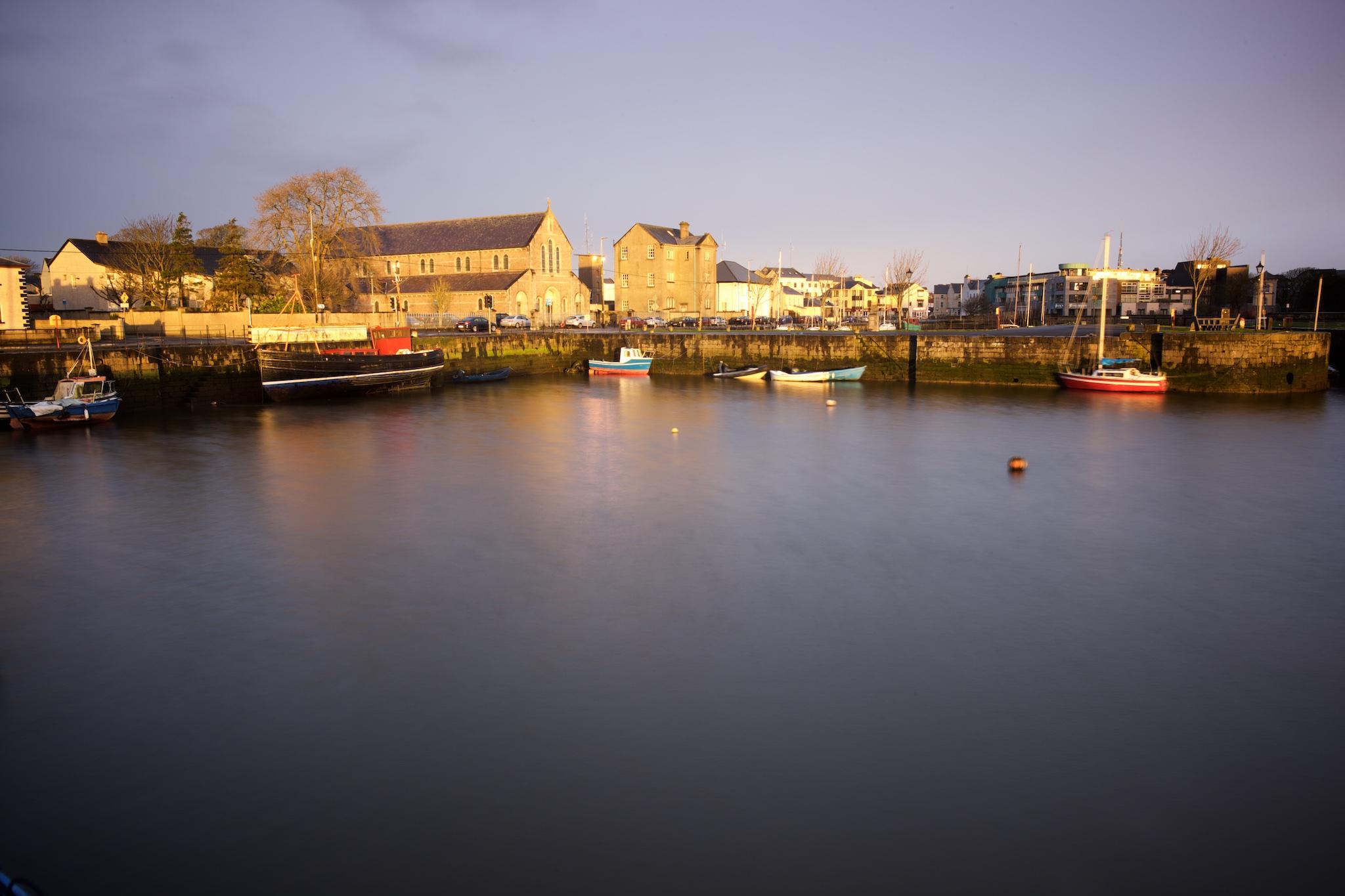 Galway harbor, Ireland