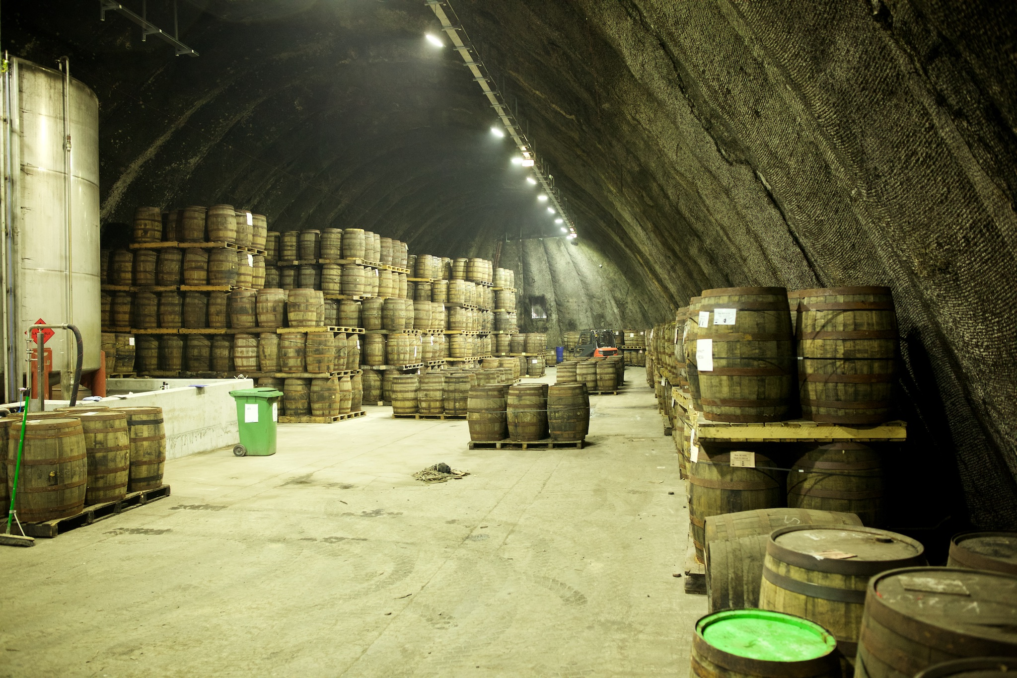 Kilbeggan whiskey distilary warehouse, Ireland
