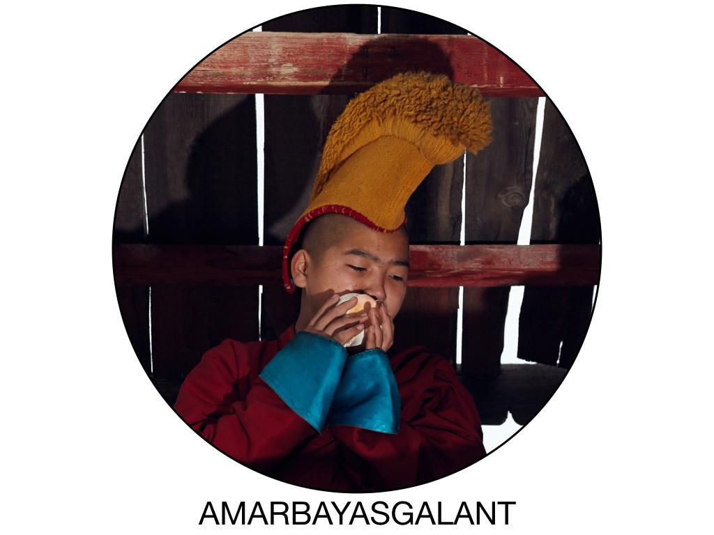 Amarbayasgalant khiit monk