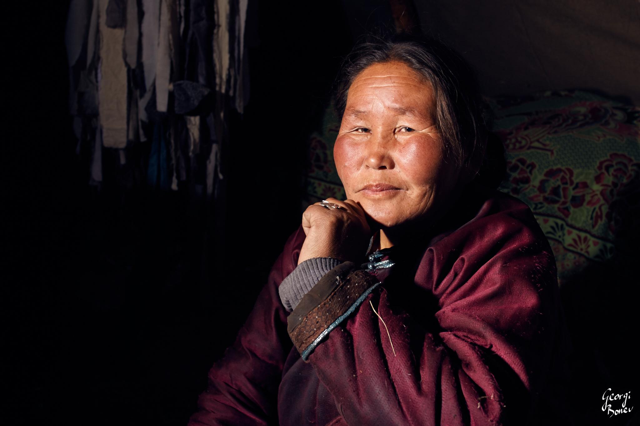 TSETSE IS THE SHAMAN OF TSAATAN PEOPLE, MONGOLIA