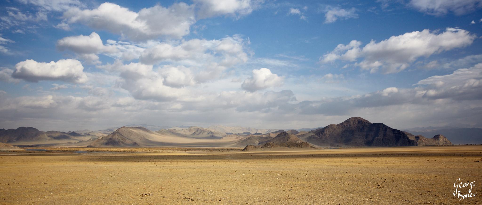 Altai Mountain in Mongolia