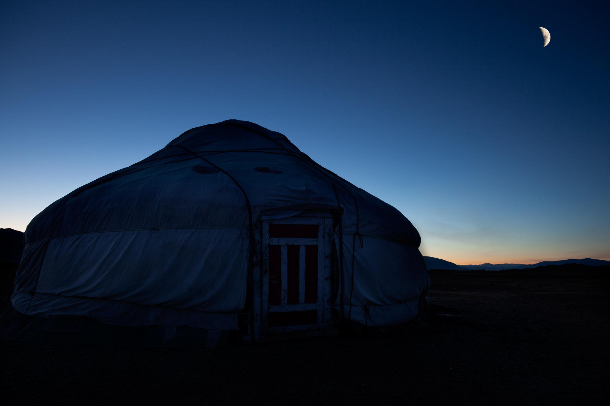 Gerr in Mongolia