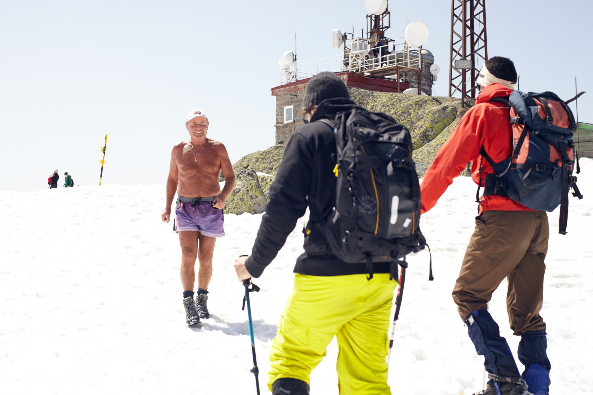Winter Climb of Cherni Vrah on Vitosha