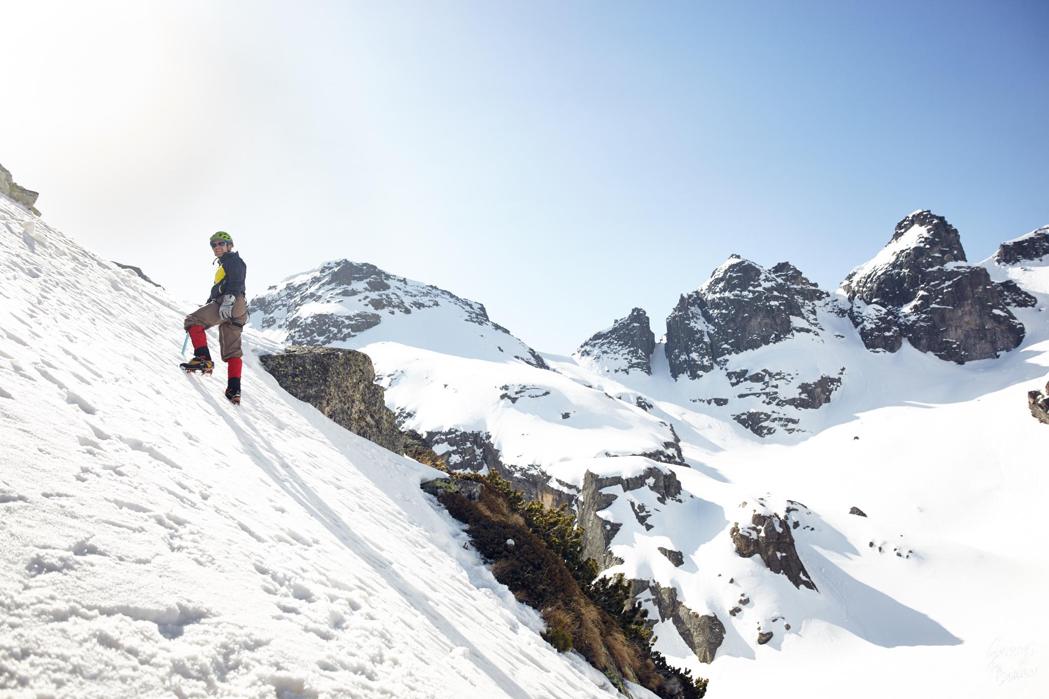 Winter Climb of Malak Kupen in Rila