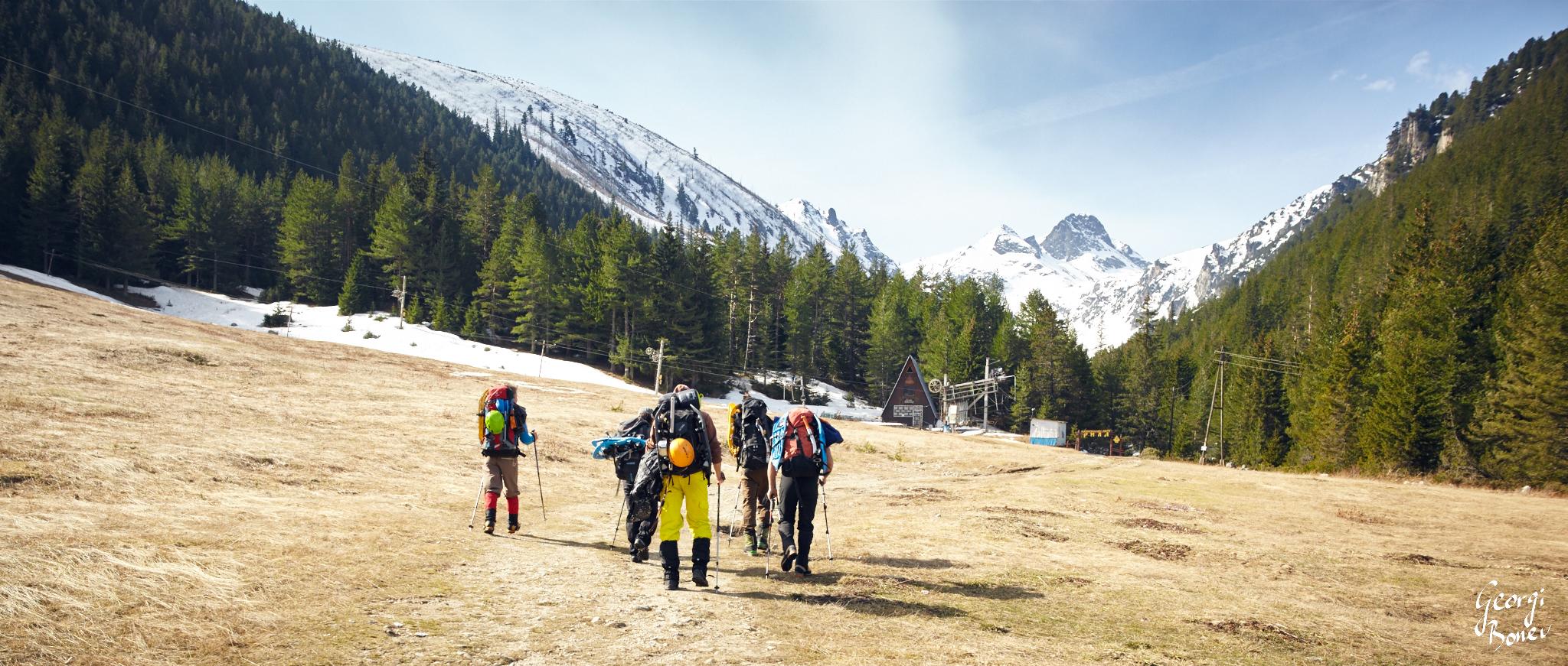Trekking to Malyovitza Peak in Rila Mountain