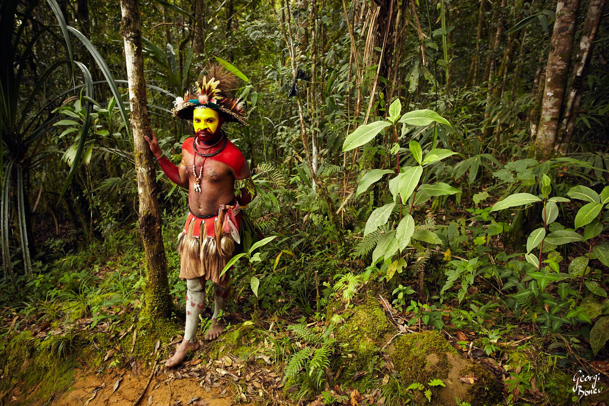 KAI IS HULI WIGMEN WARRIOR, PAPUA NEW GUINEA