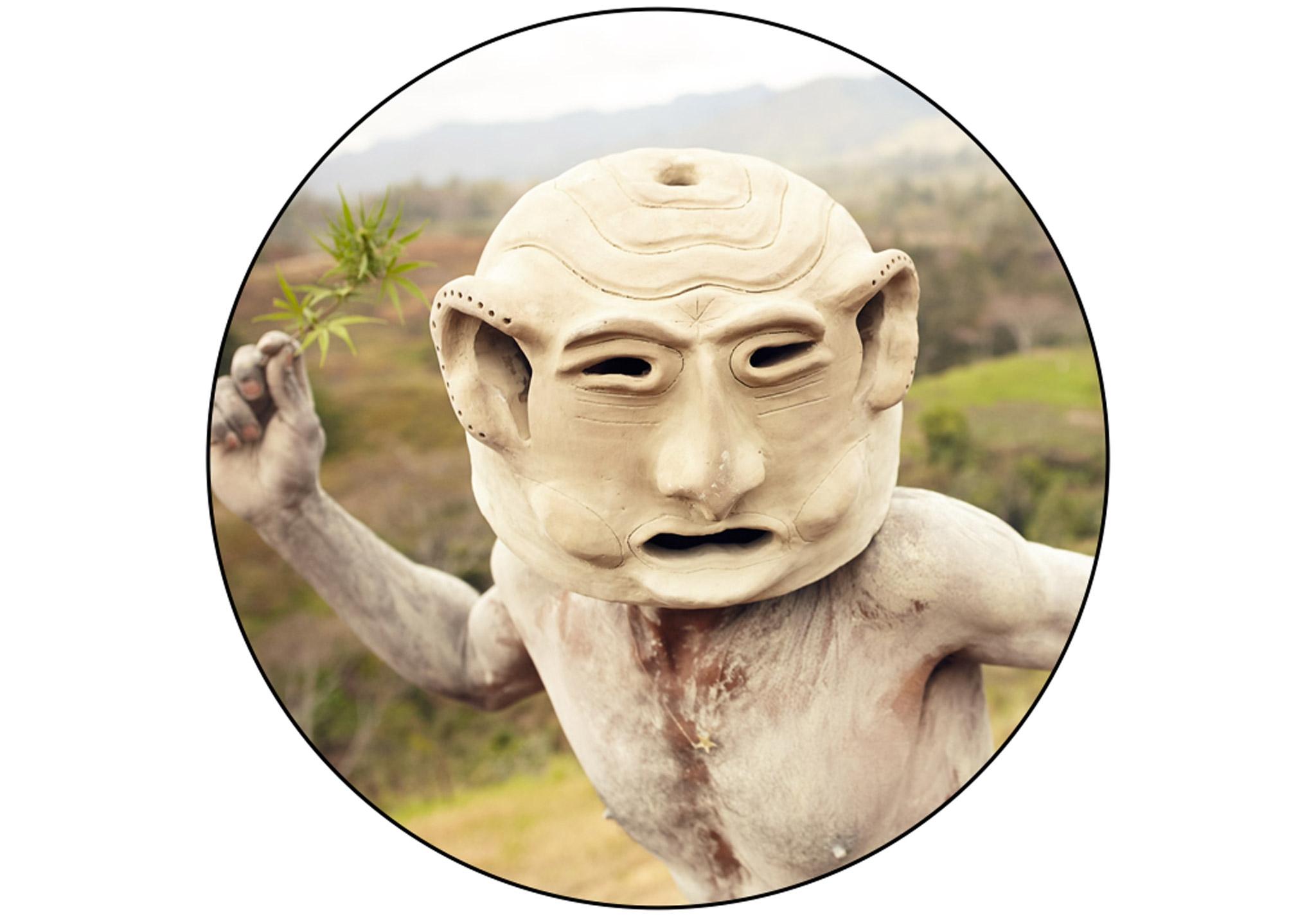 Asaro Mudmen Warrior