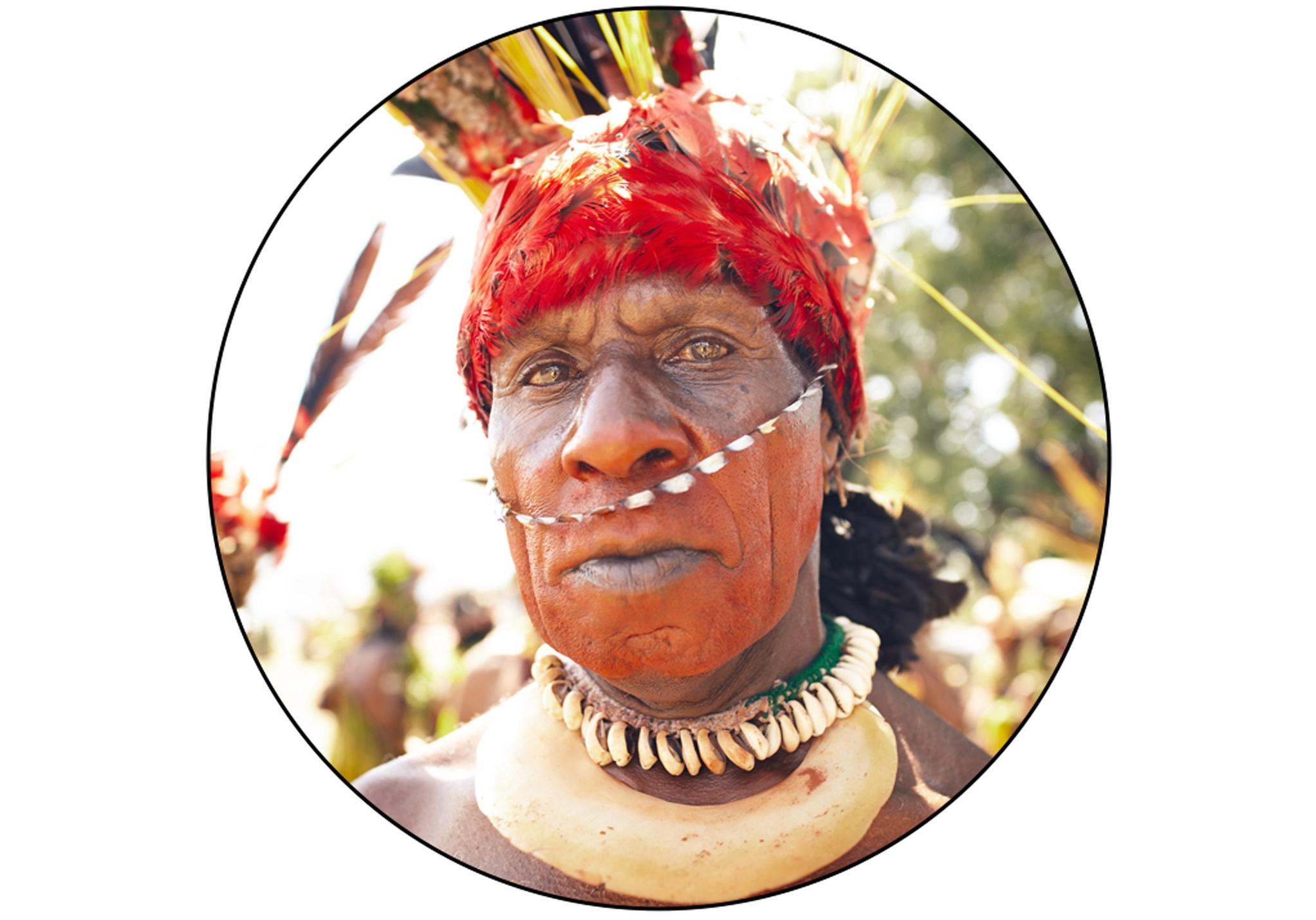 ATRIGU WARRIOR IN PAPUA NEW GUINEA
