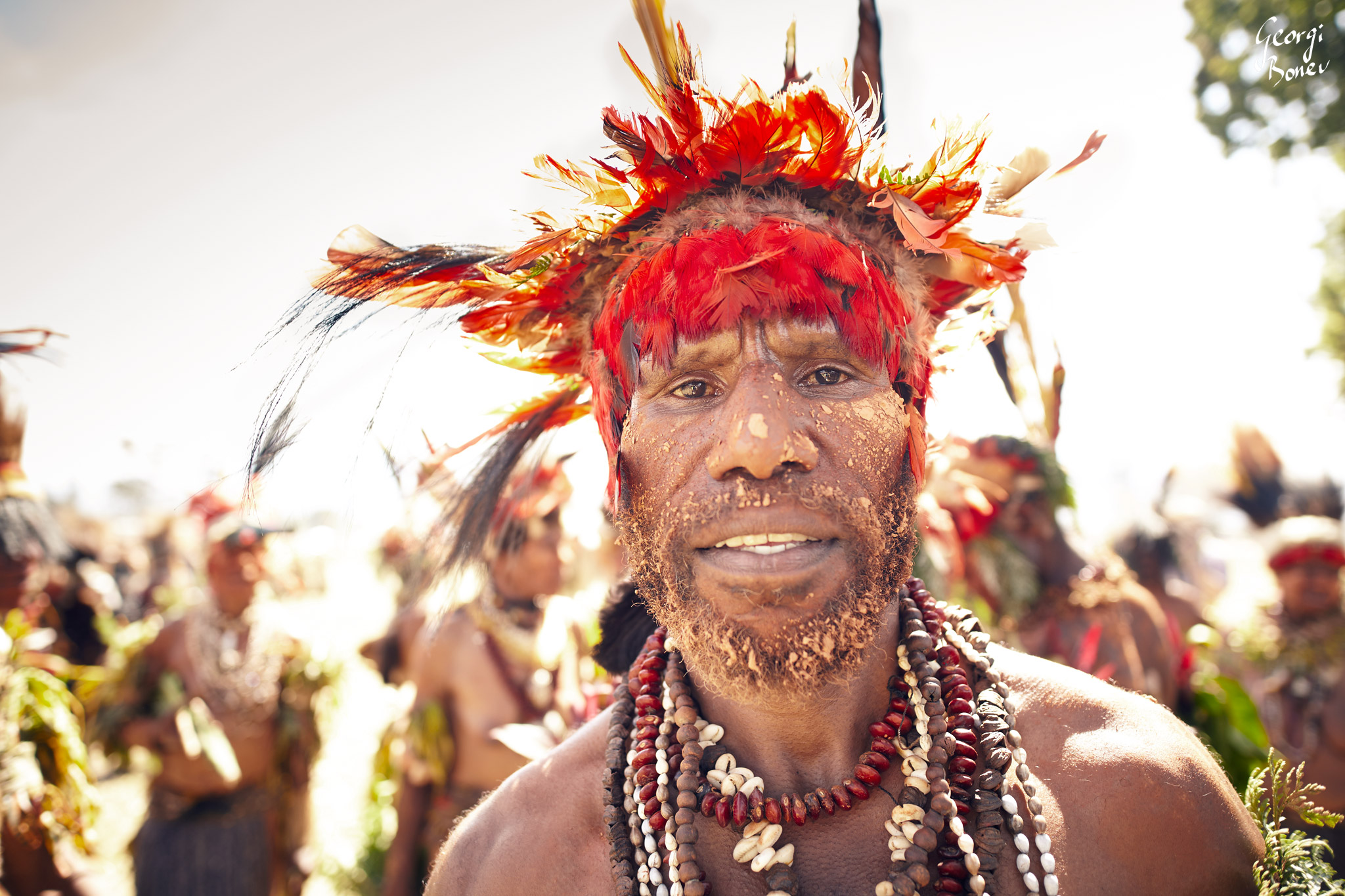 WIRI IS ATRIGU WARRIOR IN PAPUA NEW GUINEA