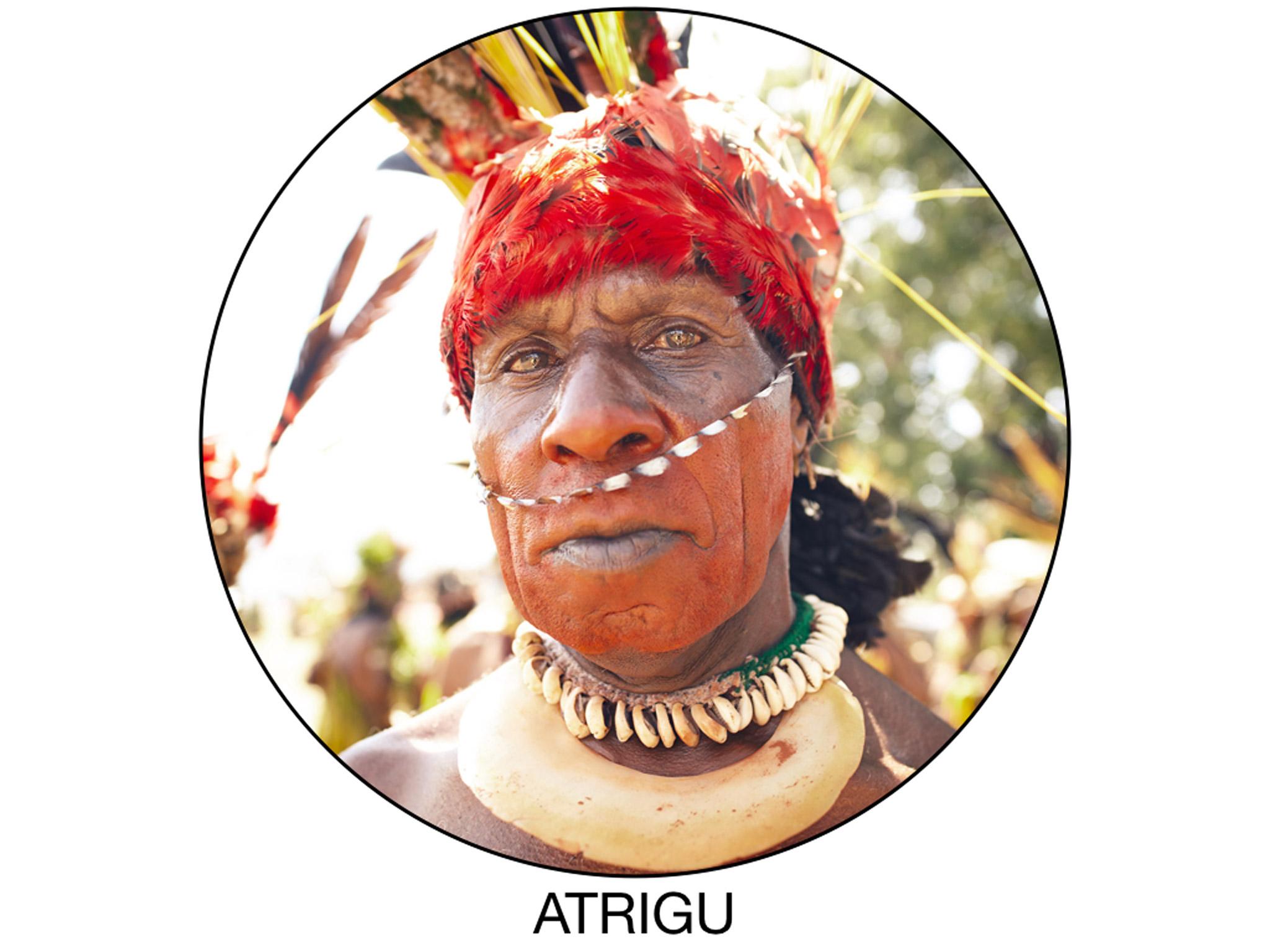 Atrigu warrior portrait