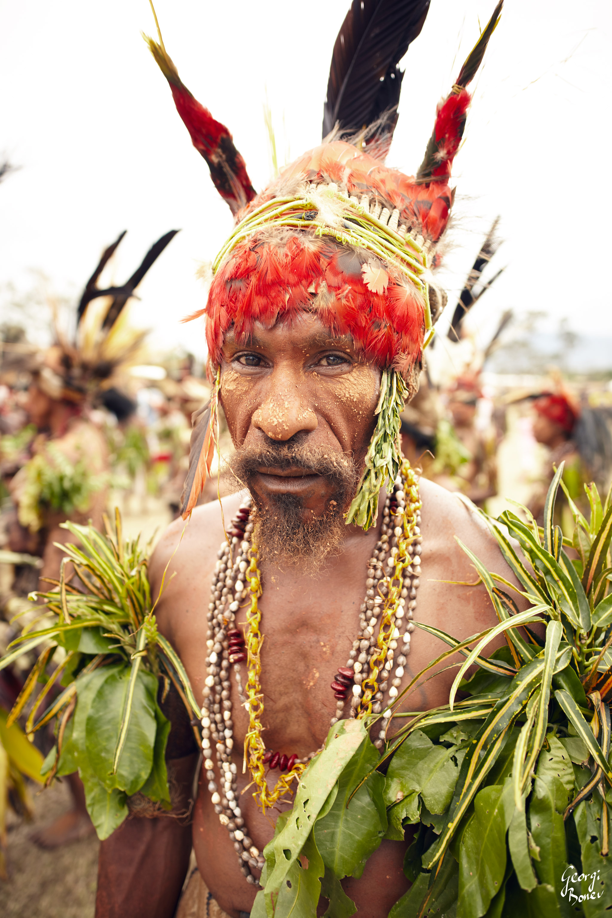ATRIGU WARRIOR IS VERY SUSPICIOUS ABOUT NEW COMMERS, PAPUA NEW GUINEA