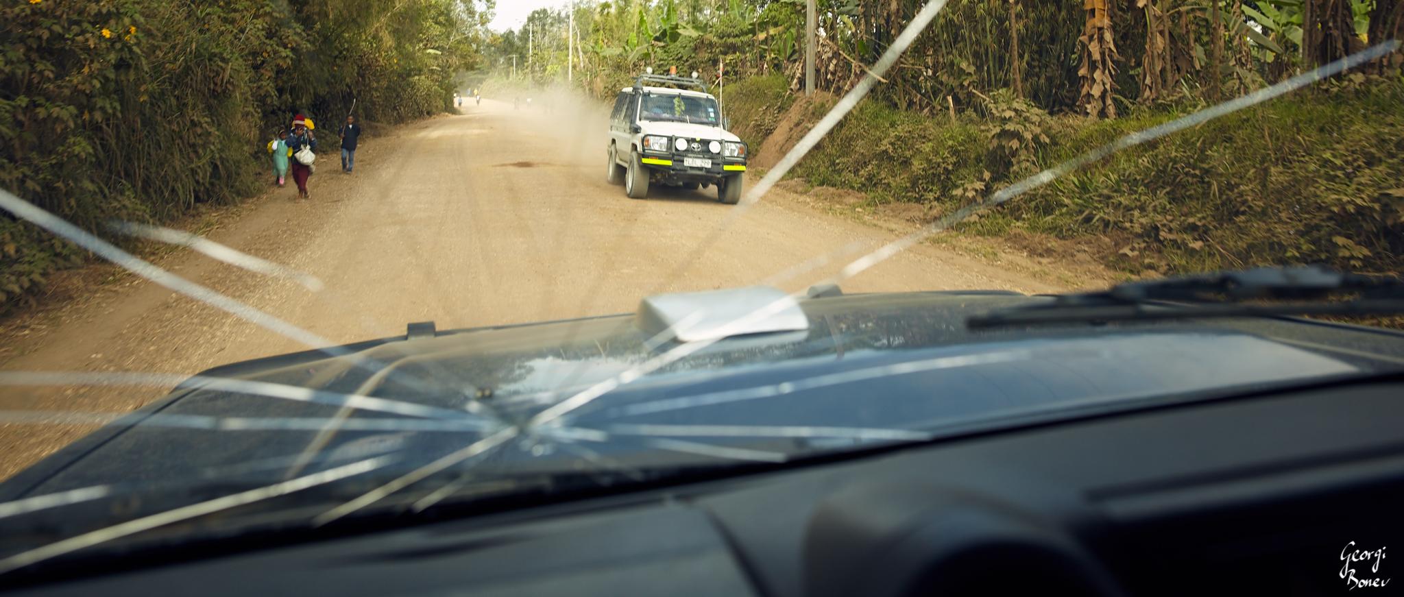 On the way to Koroba, PNG