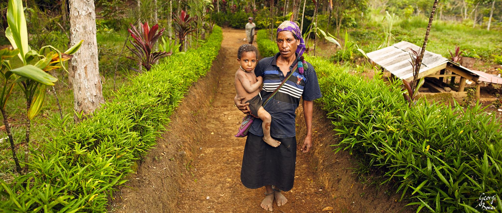 Koroba village, PNG