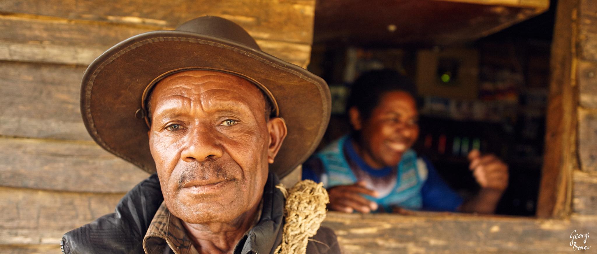 Koroba villager, PNG