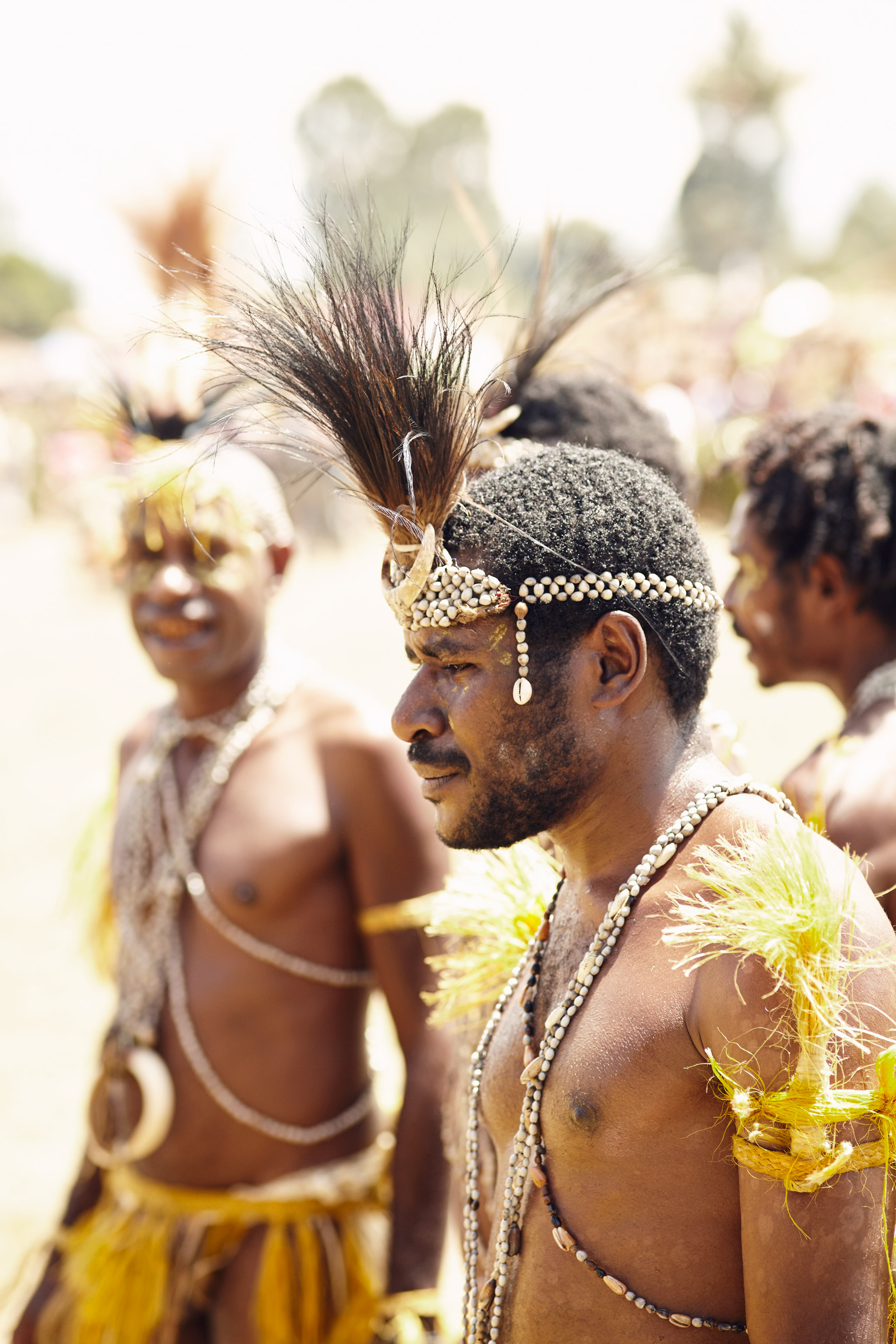 BUKAWA YOUNG WARRIOR IN PAPUA NEW GUINEA