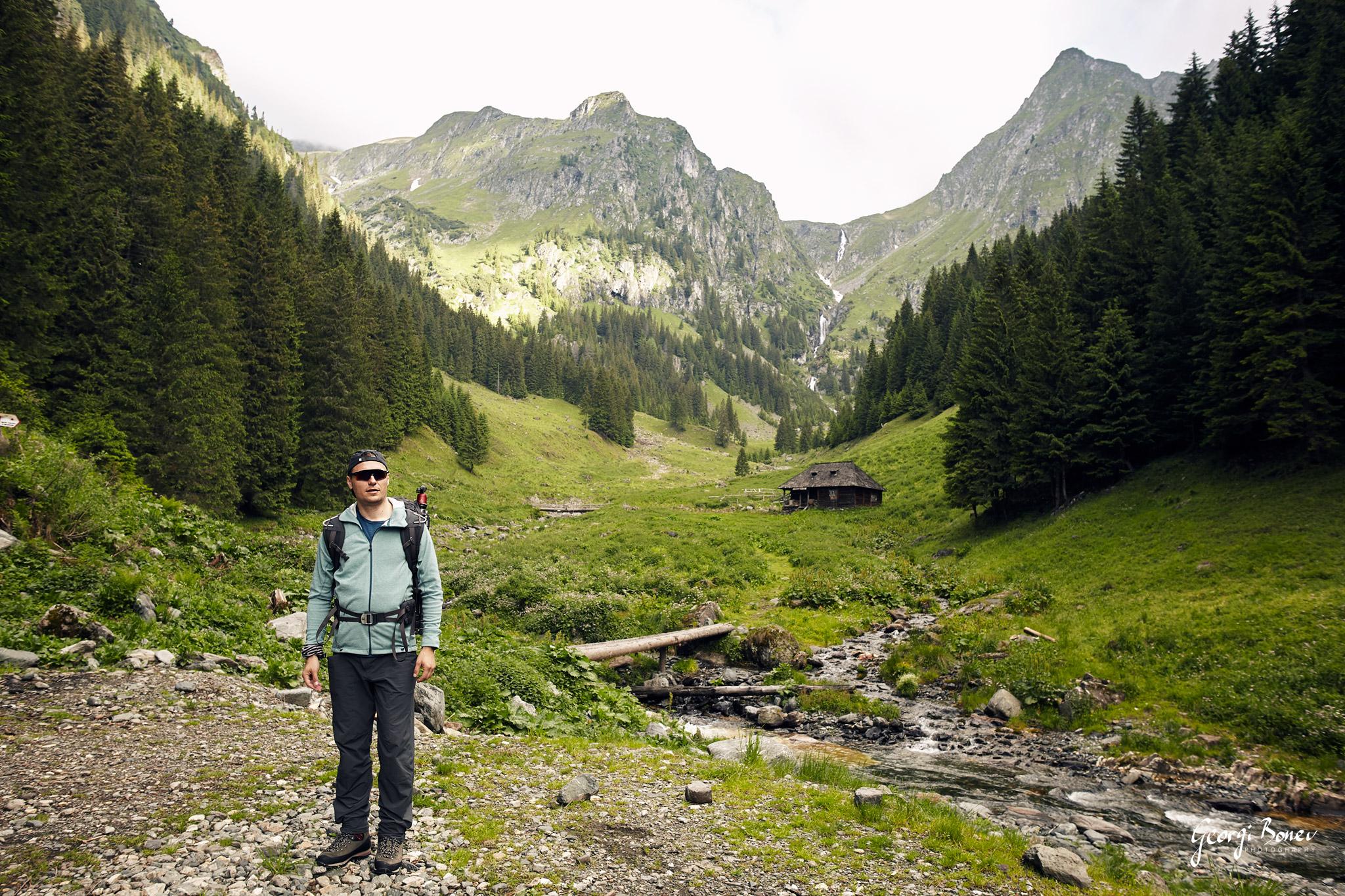 Georgi near Valea Rea, Fagaras Mountain, Romania