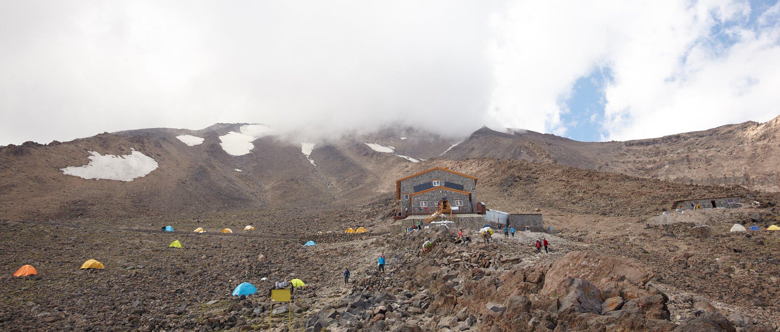 Base Camp at 4200m, Mt. Damavand, Iran
