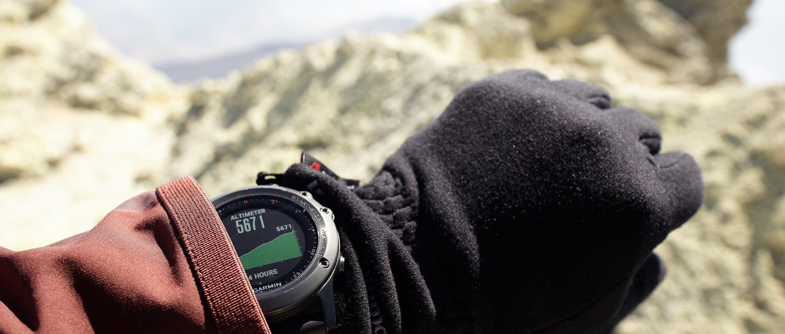 Altitude measure at Mt. Damavand, Iran