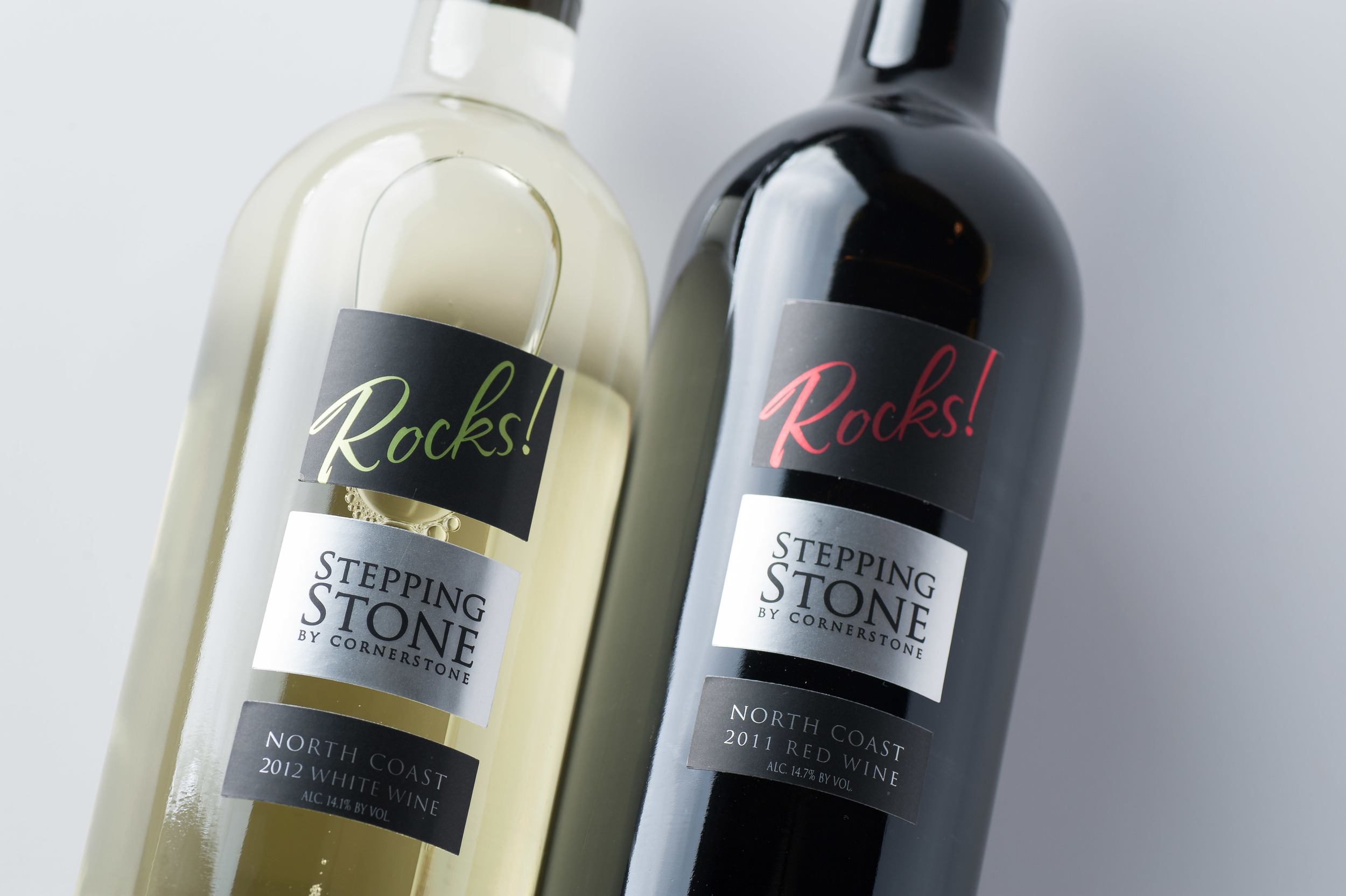 2012 Stepping Stone by Cornerstone North Coast White Rocks! and 2011 Stepping Stone by Cornerstone North Coast Red Rocks!