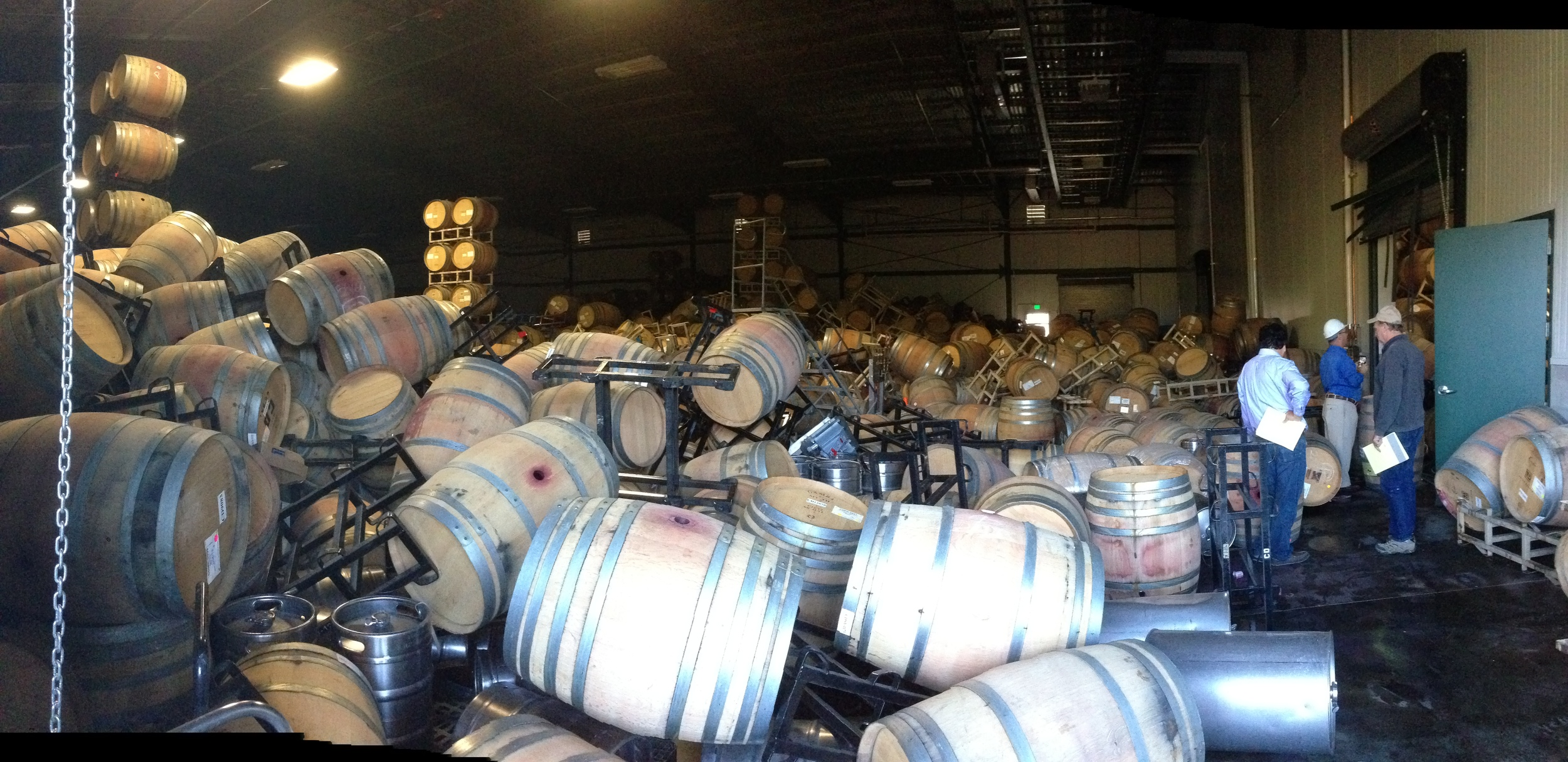 The Cornerstone Cellars 2013 vintage is somewhere in there.