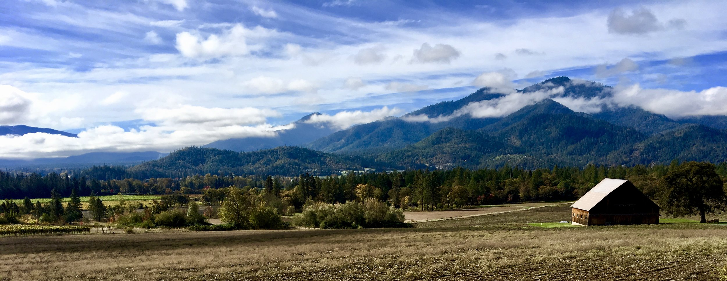 An emerging American AVA - The Applegate Valley Oregon