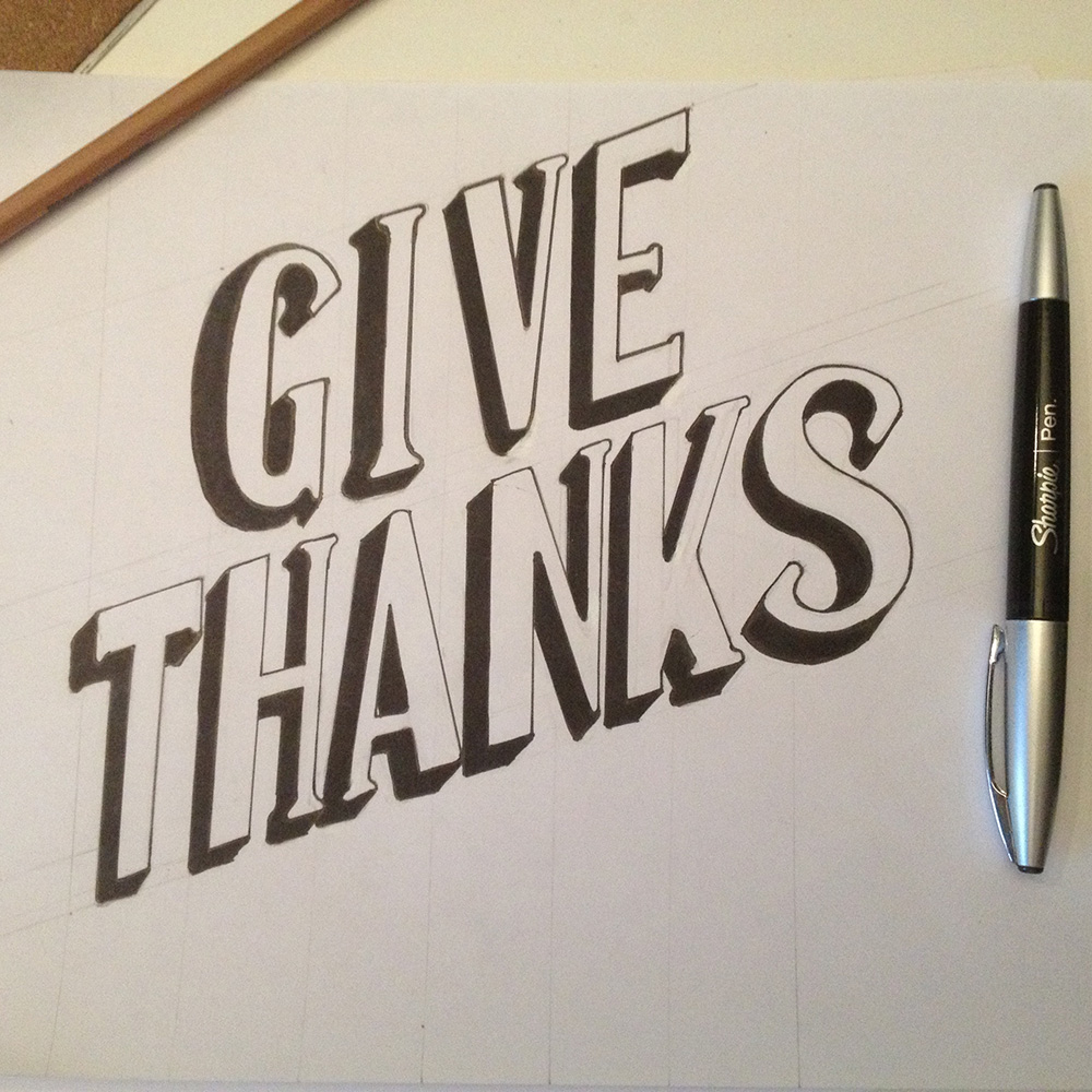"""Give Thanks"" // © 2012 - Brandon Leedy"