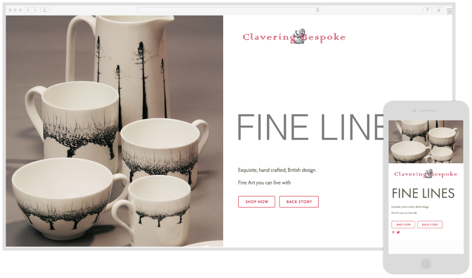 Clavering Fine Art - Ceramic Artist