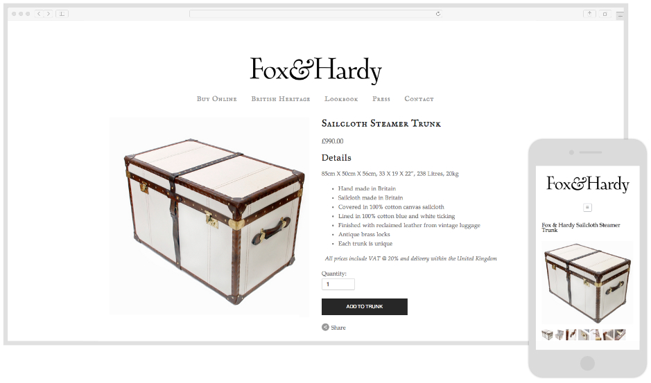 Fox & Hardy - Lifestyle Products