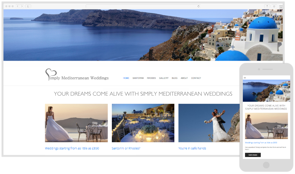 Simply Mediterranean Weddings - Wedding Planners