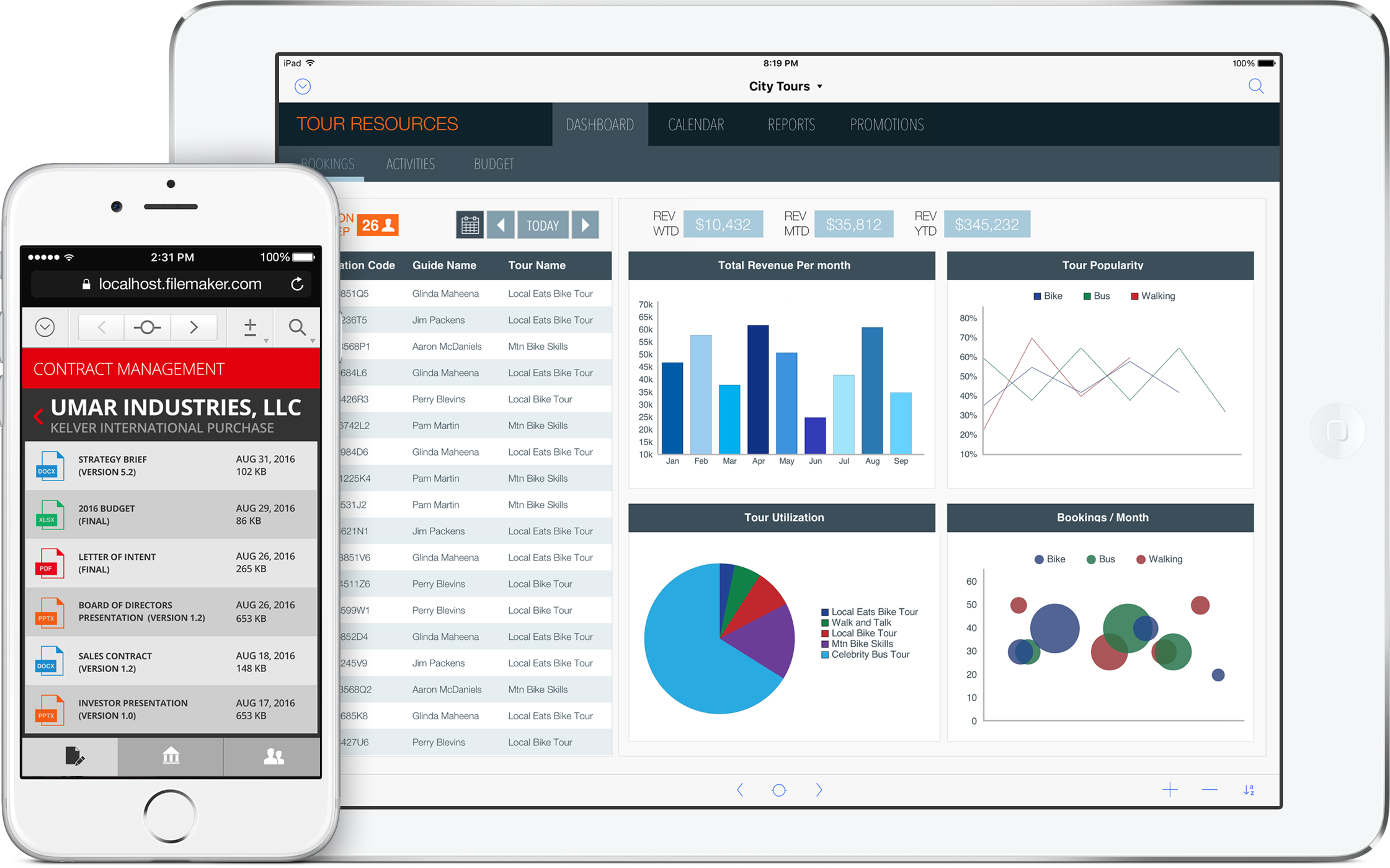 Filemaker Mobility