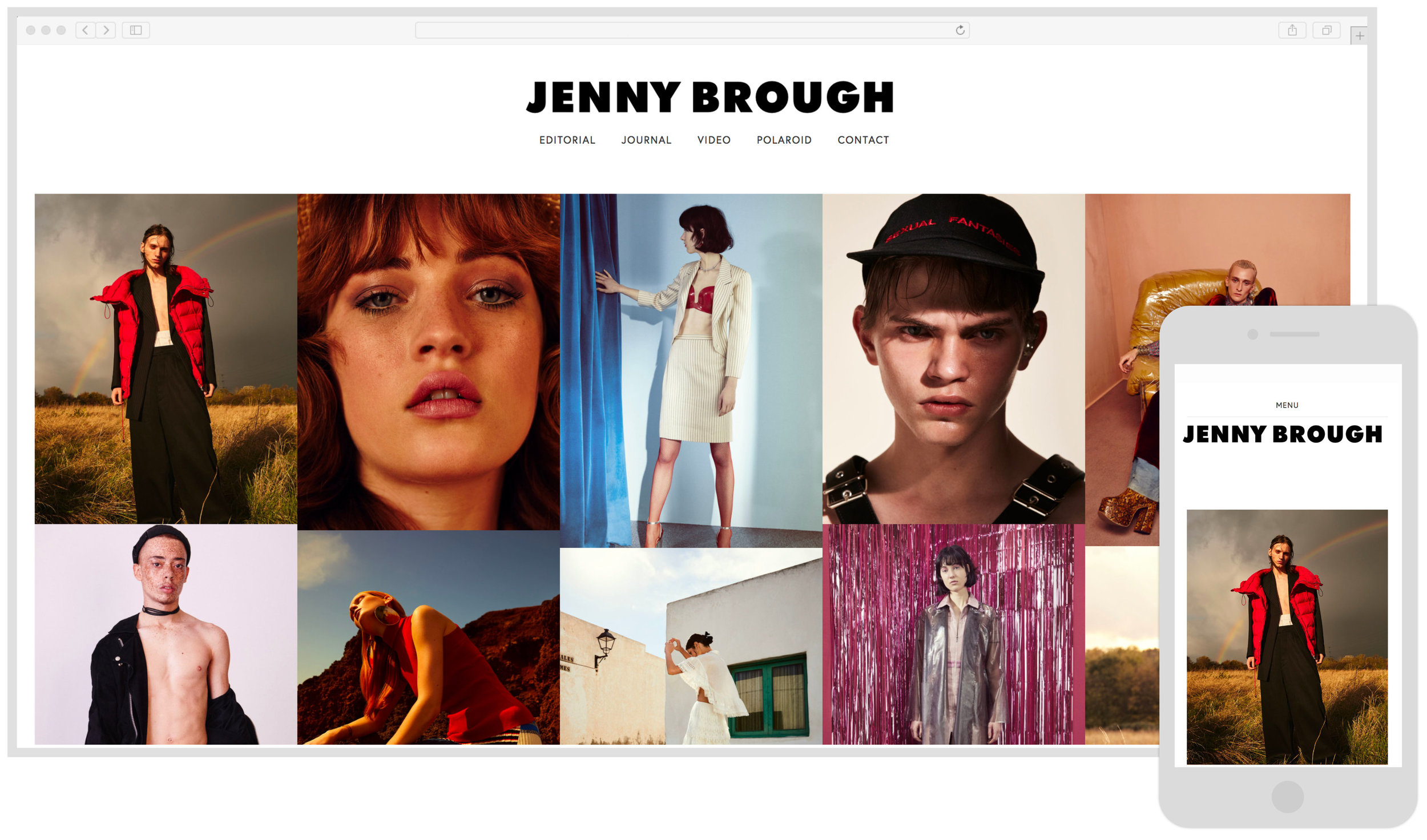 Jenny Brough - Professional Fashion Photographer
